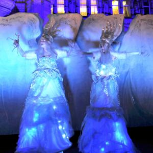 Illuminated Ice Maidens