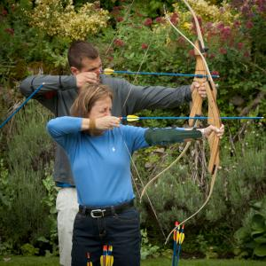 Archery at Amberley Castle images