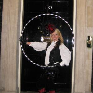 Hula Hoop outside No 10