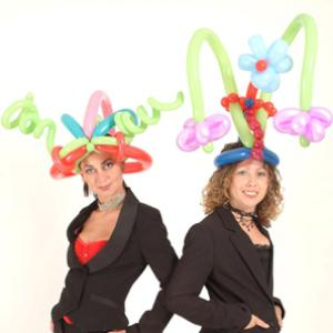 Smart Balloon modelling - hats