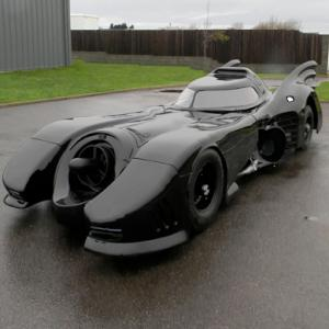 Batmobile to deliver Santa