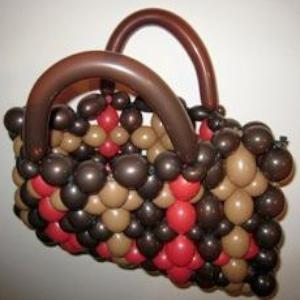 handbag balloon model