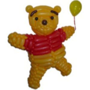 Pooh Bear Balloon model