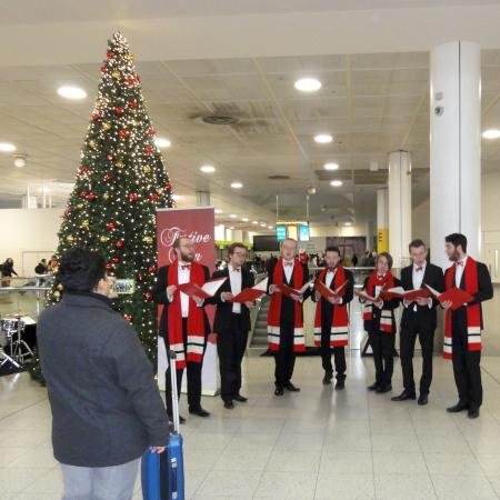 Gatwick Christmas event 2016