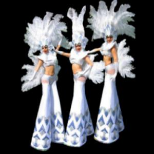 Ice Theme Showgirls