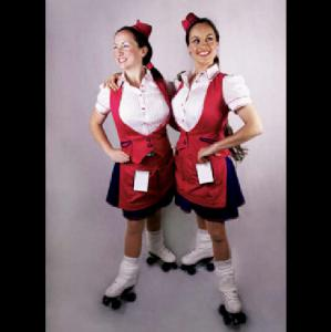 Roller Skating Waitresses