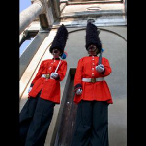 Stilt Walking Guardsmen