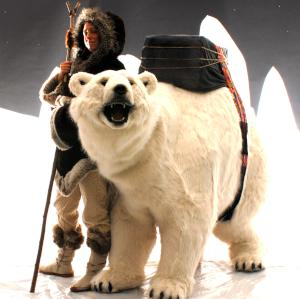Giant Polar Bear Puppet