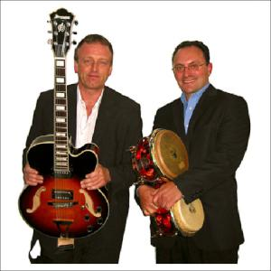 guitar and percussion duo