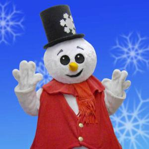 Costume Snowman to accompany Santa