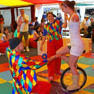Circus workshop - unicycle