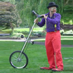 Unicycle show