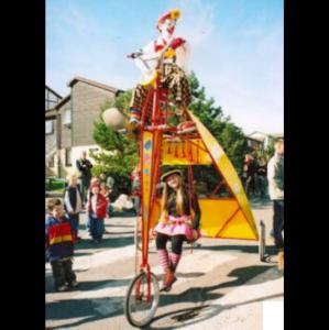 The Tallest Tricycle in The World??