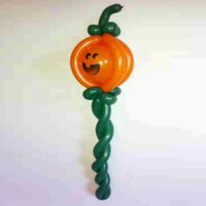 Selection of halloween themed ballon models from our experienced balloon modellers