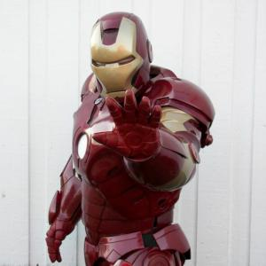 Iron Man tribute character