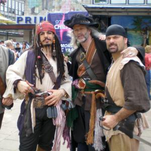 Pirates of the Caribbean character actors