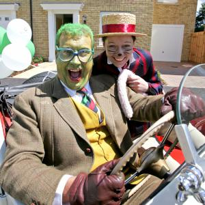 The Wind in The Willows (Toad and Ratty)